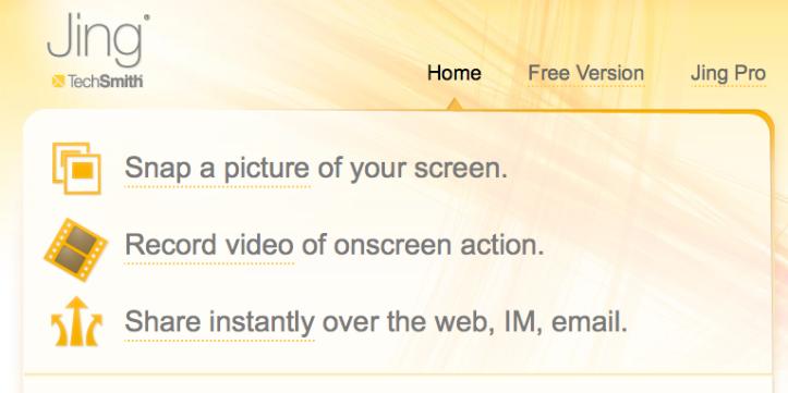 JING > Homepage