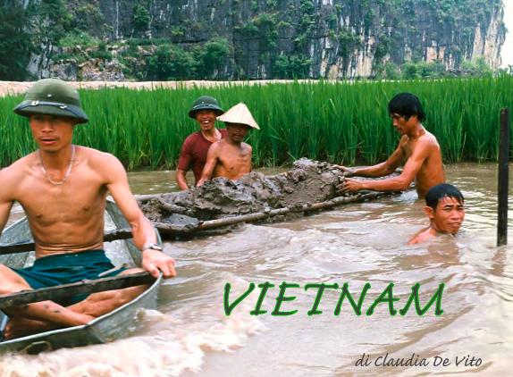 Claudia De Vito, Vietnam, copertina