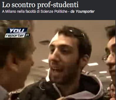 Corriere della Sera > 23.10.2008 > Video di YouReporter