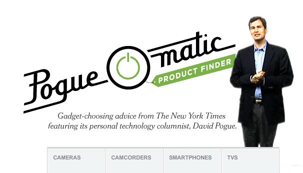 New York Times > PogueOmatic