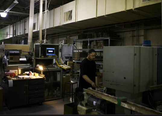 Wall Street Journal > Fewer Workers on Factory Floors (slideshow)
