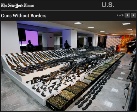 New York Times > Guns Without Borders > Slideshow