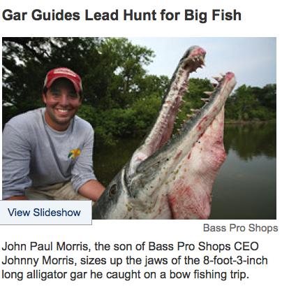 Wall Street Journal > Alligator Gar > Slideshow
