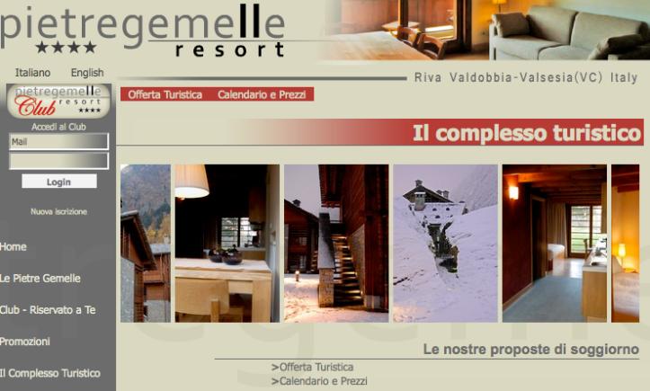 PIETRE GEMELLE > 2009 > Homepage
