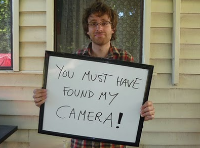 DAMNCOOLPICS > How to avoid losing your camera