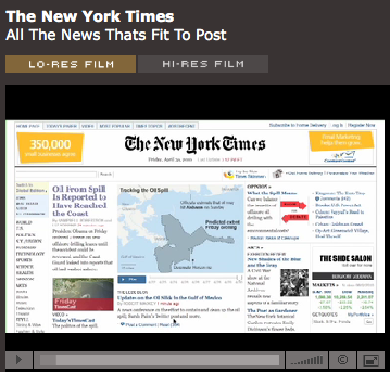 Intervista a Steven Duenes e Archie Tse (New York Times)