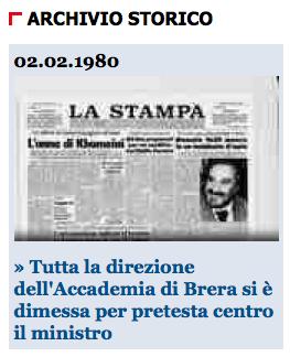 LASTAMPA > 2.02.2011 (dalla homepage)