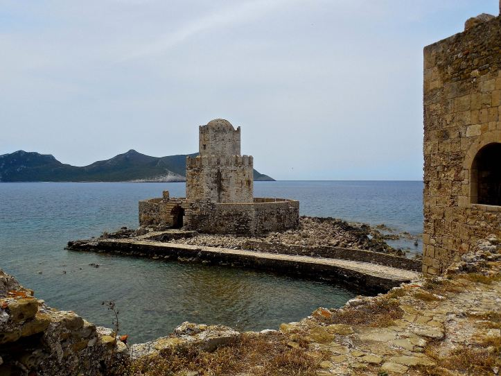 La roccaforte del castello di Methoni