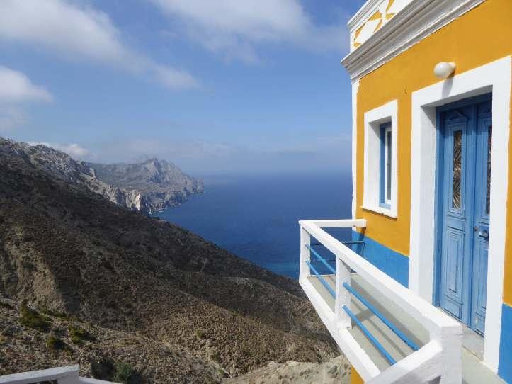 Olympos (Karpathos): casa verso sud ovest