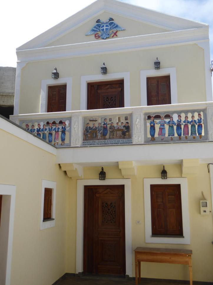 Olympos (Karpathos): casa, non chiesa