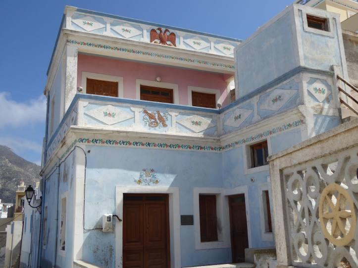 Olympos (Karpathos): casa in alto al paese