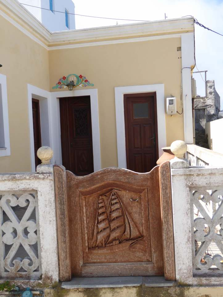 Olympos (Karpathos): particolare di ingresso