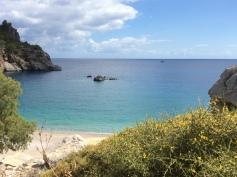 la spiaggia di Aghios Andreas