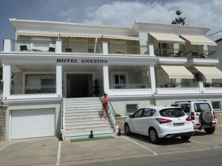 L'hotel Anezina a Pylos