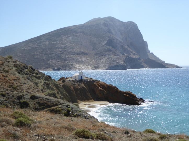 La spiaggia di Aghii Anarghyrii
