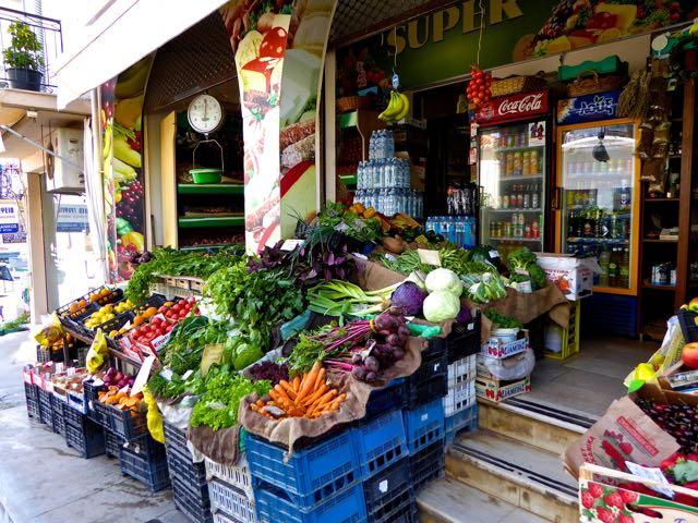 In primo piano le strepitose carote organiche