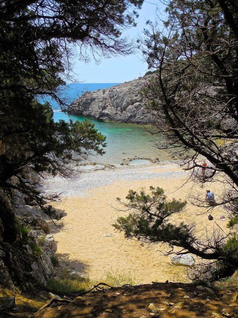 La spiaggia di Glossa