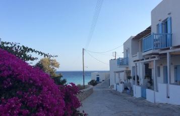 Donousa: la main street