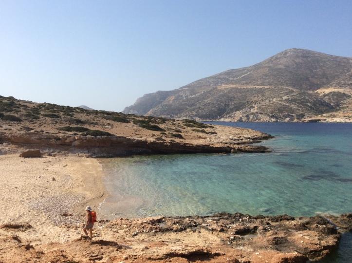 La spiaggetta di Trypiti