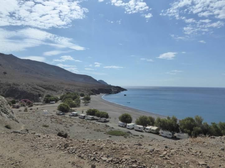 la spiaggia di Tripiti