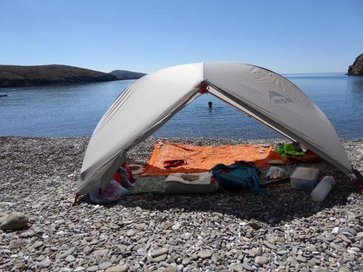 La tenda Hubba Hubba di MSR