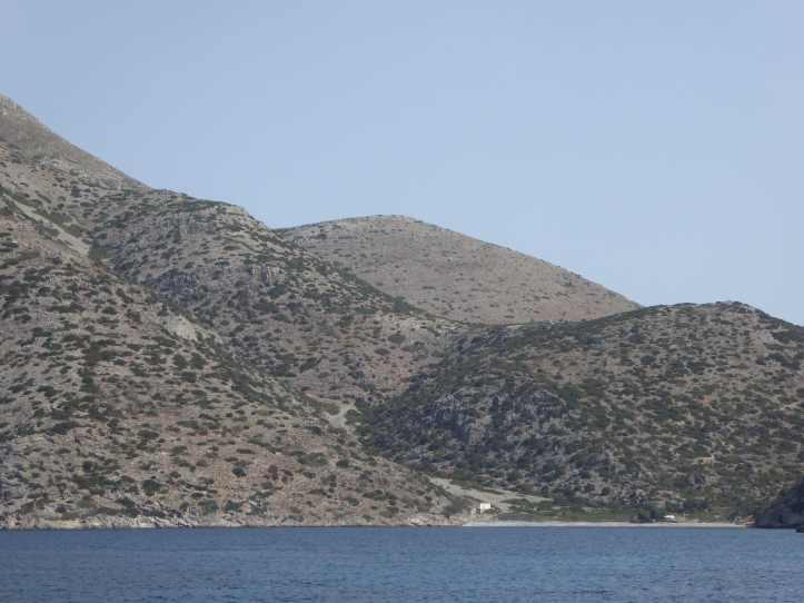 Isola di Saria: Aghios Spiridionas