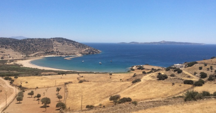 La spiaggia di Kelados