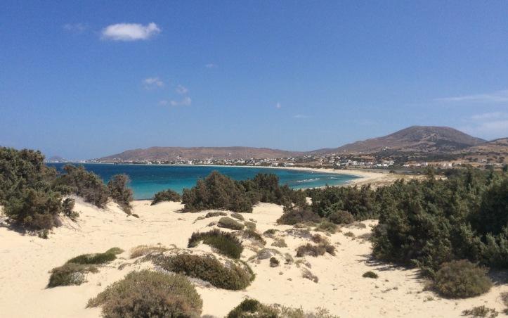 La spiaggia di Glyfada