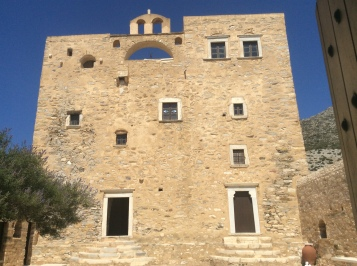 La torre Bazeos: facciata