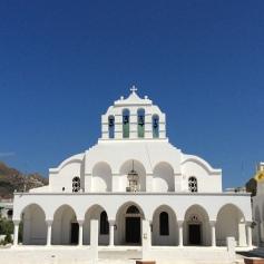 La cattedrale ortodossa di Naxos