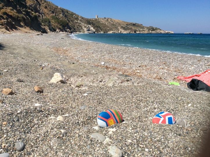 La nude beach di Drakanos
