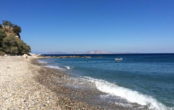 Xylosyrtis: la spiaggia