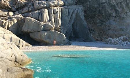 La spiaggia di Seychelles