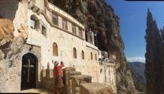 L'ingresso del monastero di Sintzas