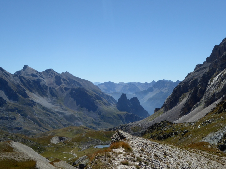 Colle Maurin, verso la Rocca provenzale