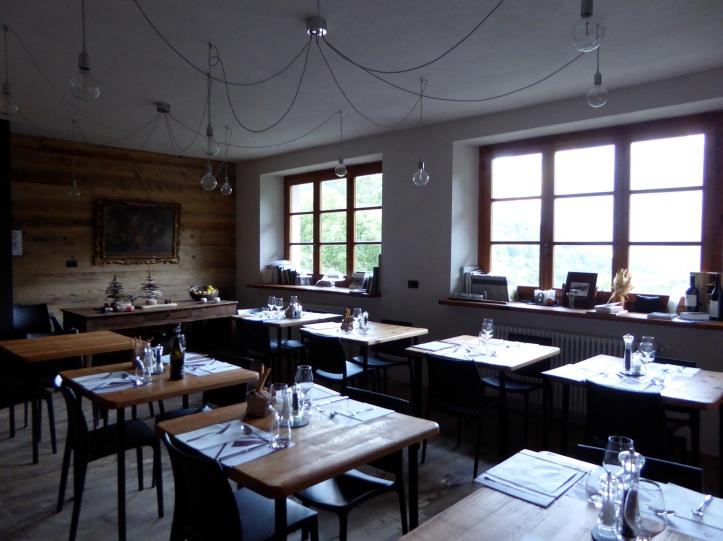 La Scuola: sala da pranzo
