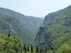 la alta valle del Lousios