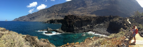 sentiero da La Maceta a La Punta
