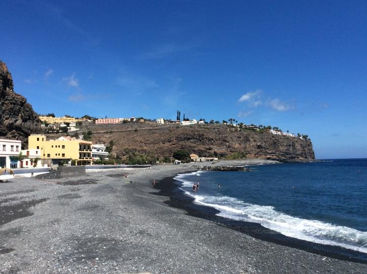 La spiaggia di Porto de Santiago