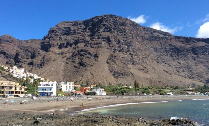 La spiaggia di Valle Gran Rey