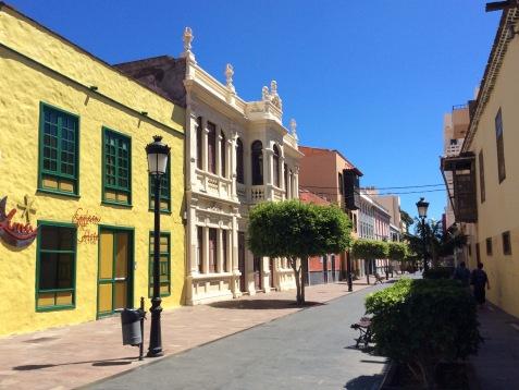 Calle Real, parte pedonale