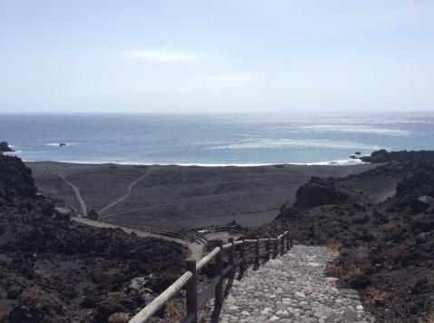 Playa Nueva sulla costa sud ovest