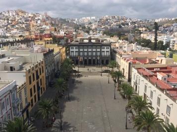 La piazza davanti alla cattedrale