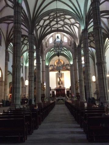 La navata centrale
