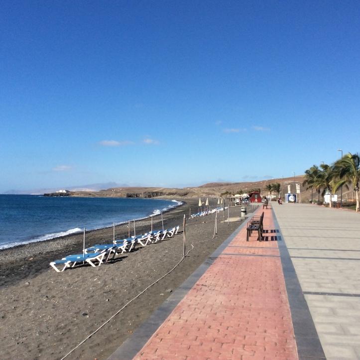 Playa de Taralajejo, la passeggiata