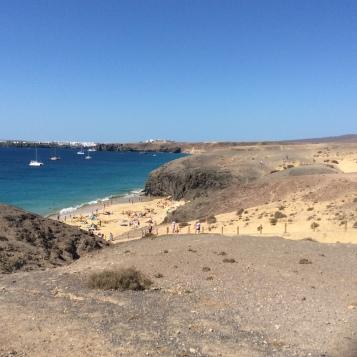 Una delle spiagge di Papagayo