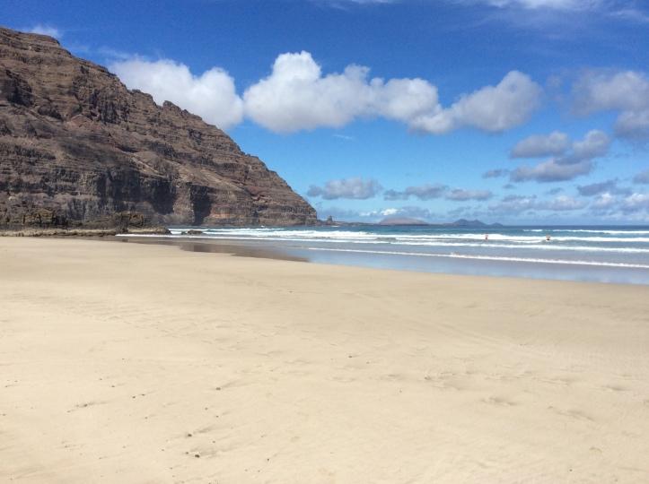 Spiaggia a nord di Orzola