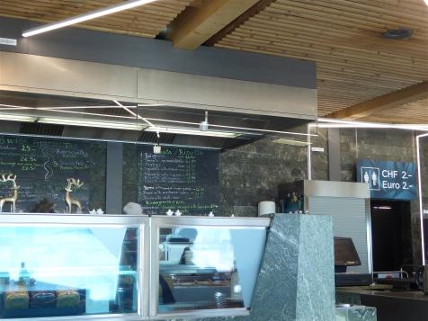 la cafeteria del Klein Matterhorn