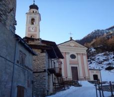 La chiesa di Chialvetta